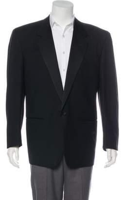 Gianni Versace Notch-Lapel Tuxedo Jacket black Notch-Lapel Tuxedo Jacket