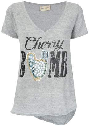 Andrea Bogosian Cherry bomb print T-shirt