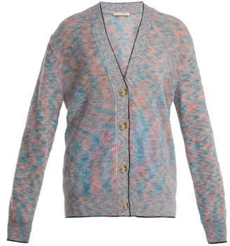 Christopher Kane V-neck mohair-blend knit cardigan