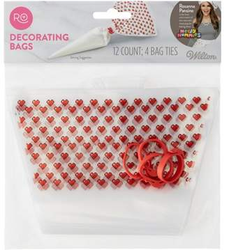 Wilton Rosanna Pansino Decorating Bags & Ties by Wilton, 12-Count