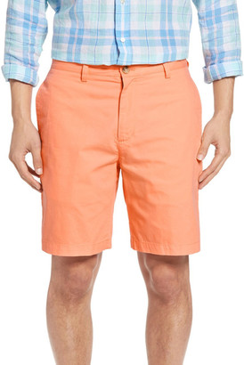 Vineyard Vines &Summer& Flat Front Twill Shorts $75 thestylecure.com