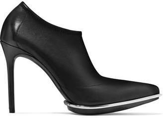 Alexander Wang Cara Leather Ankle Boots - Black