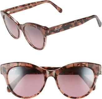 Maui Jim Ku'uipo 51mm Polarized Cat Eye Sunglasses