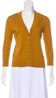 Tory Burch Long Sleeve Knit Cardigan