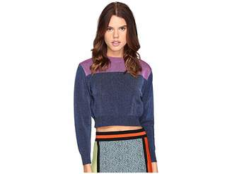M Missoni Metallic Stripe Sweater Women's Sweater