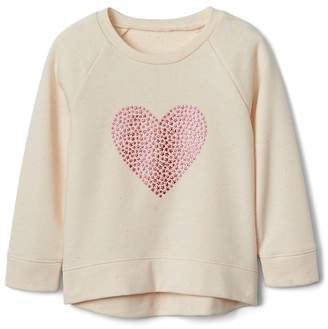 Gap Star Heart Pullover Sweatshirt