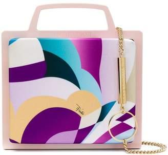 Emilio Pucci printed mini satchel
