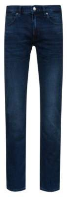 HUGO Boss Slim-fit low-rise jeans in stretch denim 34/32 Blue