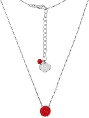 Kohl's North Carolina State Wolfpack Sterling Silver Crystal Disc Necklace