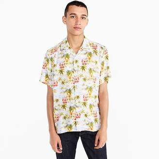 J.Crew Gitman VintageTM for short-sleeve shirt in floral print