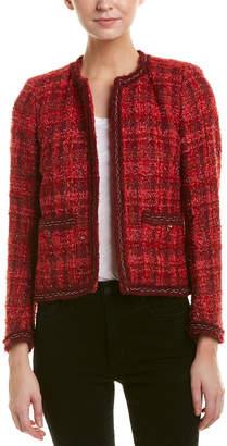 The Kooples Tweed Wool & Mohair-Blend Blazer