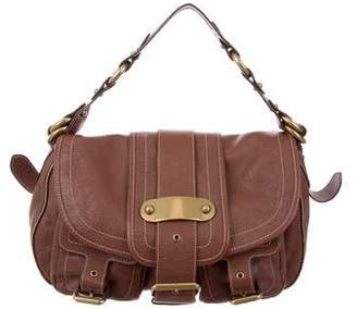 Marc Jacobs Grained Leather Messenger Bag