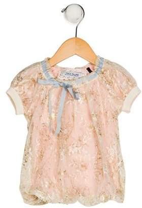 I Pinco Pallino Girls' Lace Shift Dress
