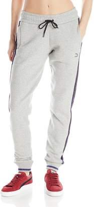 Puma Women's Printed Side Panel Sweatpants