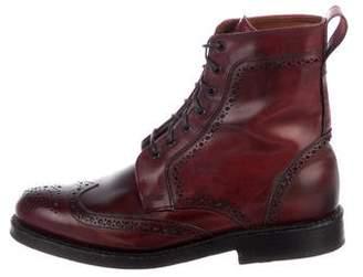 Allen Edmonds Wingtip Brogue Boots