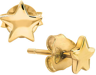 Missoma 18ct Gold Vermeil Star Stud Earrings, Gold