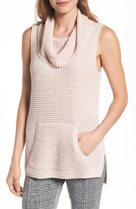 Women's Two By Vince Camuto Waffle Stitch Vest $69 thestylecure.com