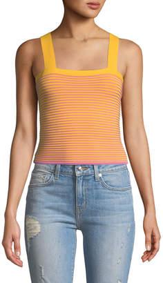 Derek Lam 10 Crosby Sleeveless Knit Crop Top