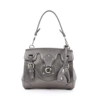 Ralph Lauren Green Leather Handbag