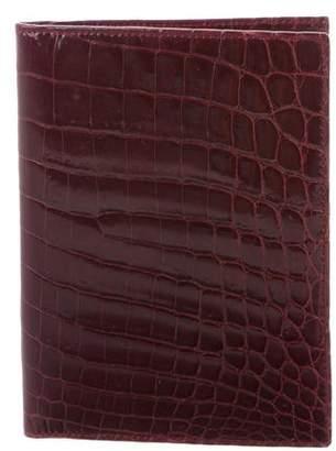 Tiffany & Co. Crocodile Passport Wallet