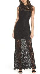BB Dakota Lace Maxi Dress