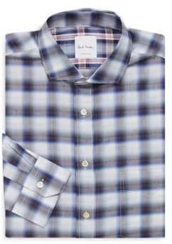 Paul Smith Regular-Fit Plaid Dress Shirt
