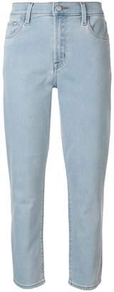 J Brand high-rise cigarette jeans