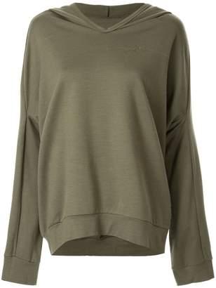 Zambesi olive Hoodwink hoodie
