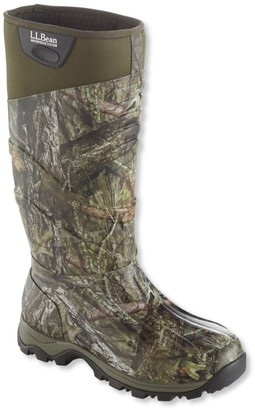 L.L. Bean L.L.Bean Men's Ridge Runner Rubber Camo Hunting Boots