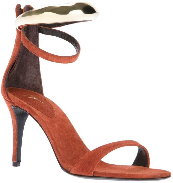 Giuseppe Zanotti Design double ankle strap sandal