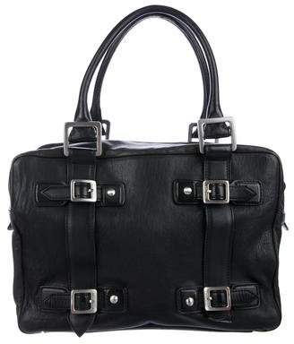 Hunter Leather Zip Shoulder Bag