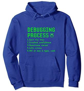 Funny Debugging Process List Computer Programmer Gift Hoodie