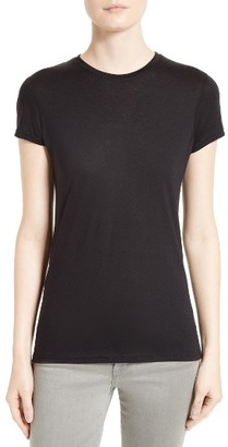 Women's Twenty Cotton & Modal Fitted Tee $78 thestylecure.com
