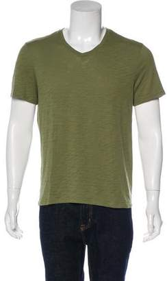 Vince Knit V-Neck T-Shirt