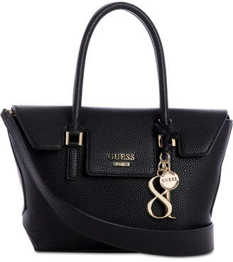 GUESS West Side Flap Satchel