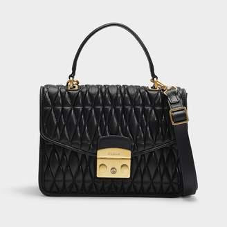 baa4d7768 Furla Metropolis S Top Handle Bag Cometa In Onyx