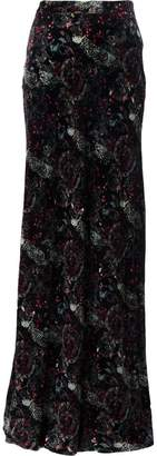 Roberto Cavalli paisley print skirt