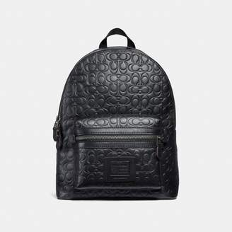 Coach Academy Backpack In Signature Leather