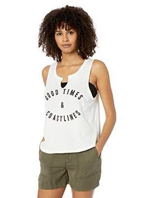 Billabong Women's Graphic Tank T-Shirt, Cool Whip, X-Small