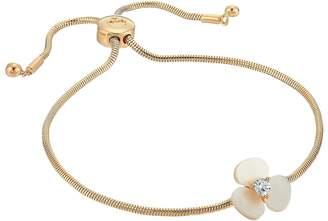 Kate Spade Disco Pansy Slider Bracelet