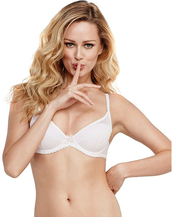 Betsey Johnson So Sexy Bridal Balconette Bra