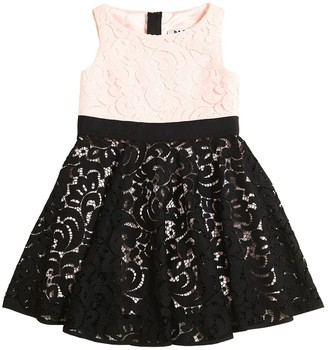Milly Minis Two Tone Lace Party Dress