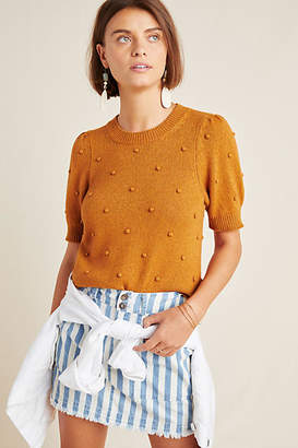 Anthropologie Pommed Sweater Top