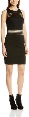 Lipsy Women's Sheer Panel Body Con Sleeveless Dress