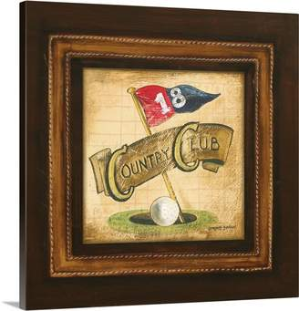 Gorham Canvas On Demand Gregory Premium Thick-Wrap Canvas Wall Art Print entitled Golf Country Club
