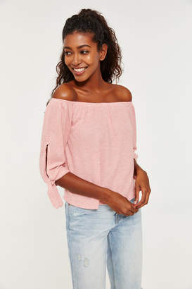 Ardene Brushed Off Shoulder Top
