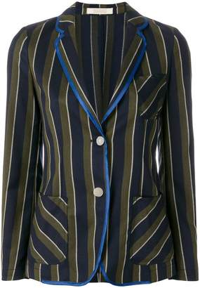 Massimo Alba striped Edera blazer