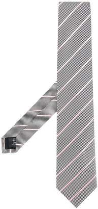 Gieves & Hawkes houndstooth tie