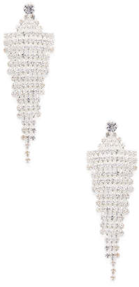 Cara Couture Jewelry Crystal Chandelier Statement Earrings