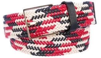MAISON BOINET Woven Waist Belt